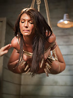 Trained, roped, pegged, caned, fingered, dildoed